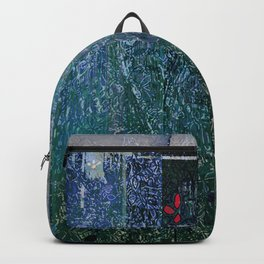 Green Concrete Backpack