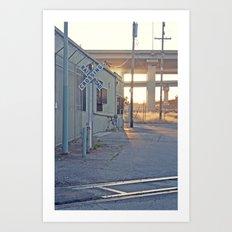 Industrial Porn Art Print