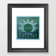 The Earth as a Planet Framed Art Print