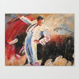 2010 Toro Acrylics 04 Canvas Print