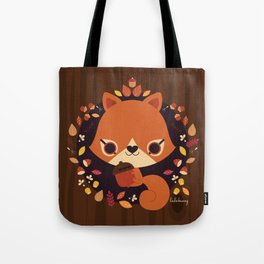 Wintertime Squirrel Tote Bag