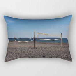 Sand Volleyball Rectangular Pillow