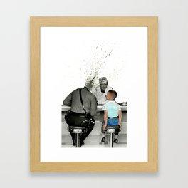 Corruption of Innocence Framed Art Print