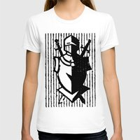 knight T-shirts featuring Knight by Haily Gwynn Shaw