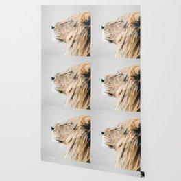 Lion Portrait - Colorful Wallpaper