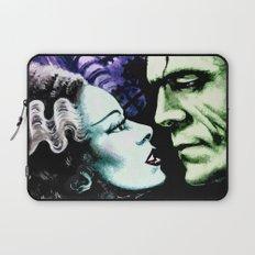Bride of Frankenstein Monsters in Love Laptop Sleeve
