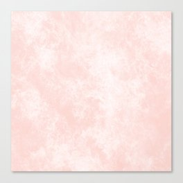 Pink Coral Marble Canvas Print