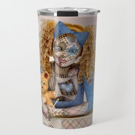 Polly Patchwork's Sewing Company Travel Mug