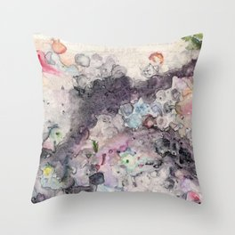 More or Less Throw Pillow