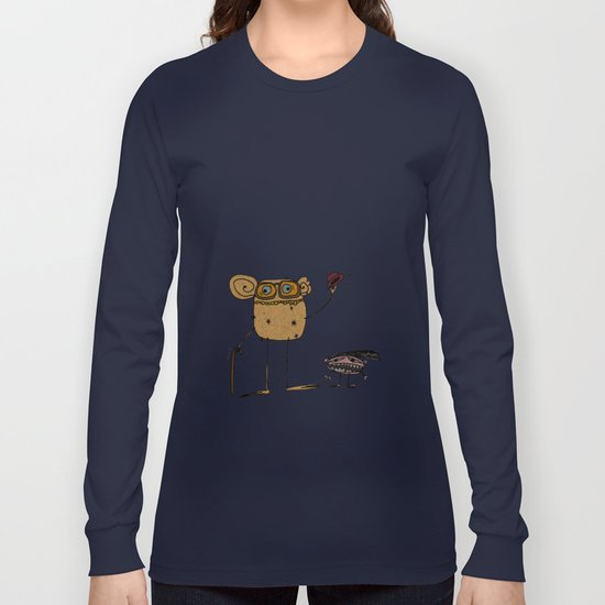 - thinking about family - Long Sleeve T-shirt
