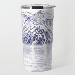 TURNAGAIN ARM AND THE CHUGACH RANGE ON THE COOK INLET ALASKA Travel Mug