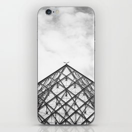 Louvre Pyramid Paris France iPhone Skin