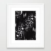 dramatical murder Framed Art Prints featuring dramatical by Marilyne Lafrontiere Mla.designs