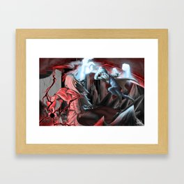 To Think We Could Have Been Allies... Framed Art Print