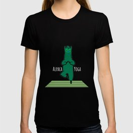 Alpaca Yoga T-Shirt Clothing Gift T-shirt