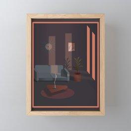 Where Did The Time Go Framed Mini Art Print