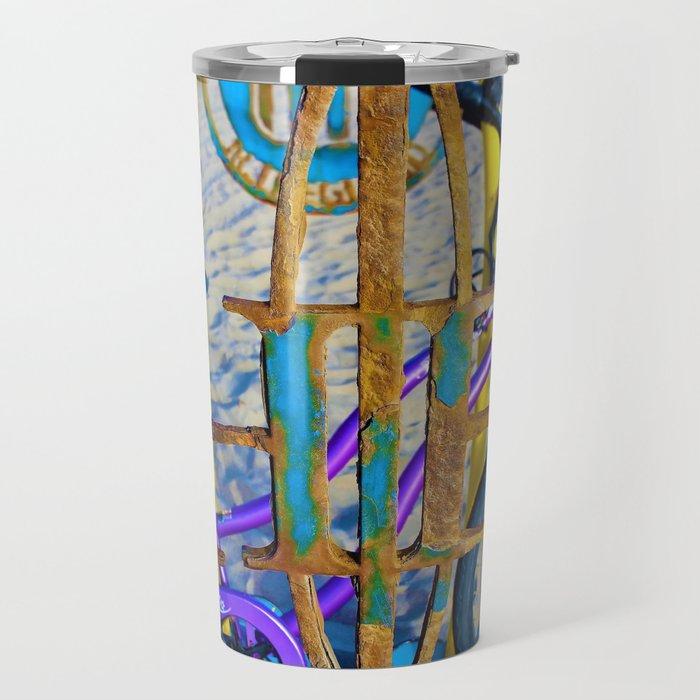 Huntington Beach Style Travel Mug