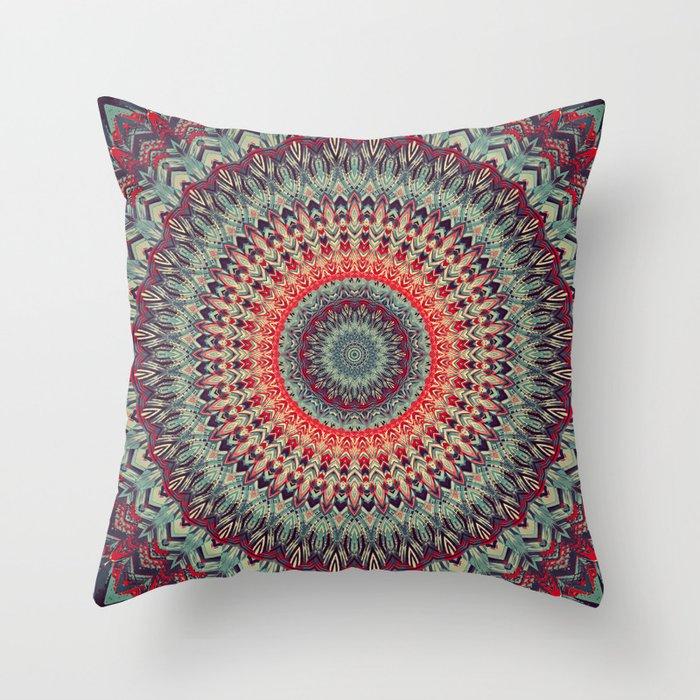 Mandala 300 Throw Pillow