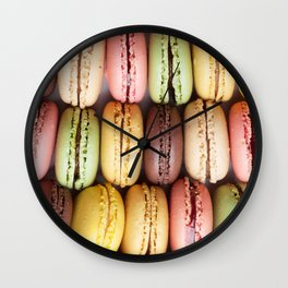 Macaroons Wall Clock