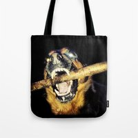 mad max Tote Bags featuring Mad Max by LiS Fotografie