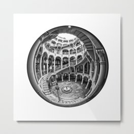 Circular Fisheye #1 Metal Print