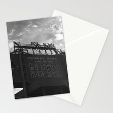 Fenway sign Stationery Cards