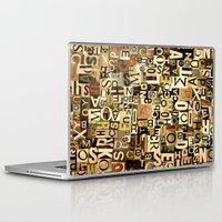 alphabet Laptop & iPad Skins featuring Alphabet by Kerri Swayze