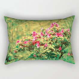 Azalea blooming Rectangular Pillow