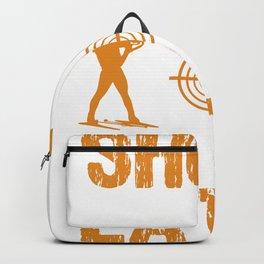 biathlon Ski Gift Rifle Sport Winter Sports Team Backpack