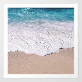 Beach Shore  Art Print