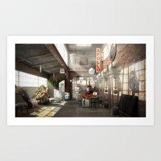 /warehouse Art Print