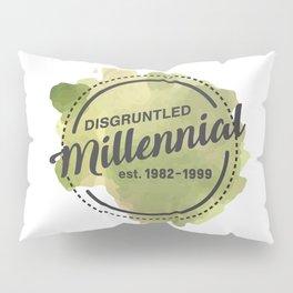Disgruntled Millennial Pride Pillow Sham