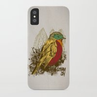 robin iPhone & iPod Cases featuring Robin by Krikoui