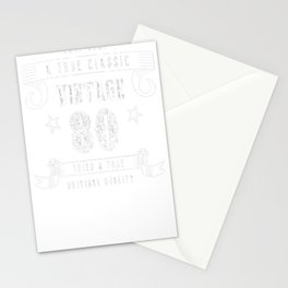 80th-Birthday-Gift---A-True-Classic-Vintage Stationery Cards