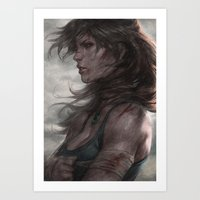 artgerm Art Prints featuring Survivor by Artgerm™