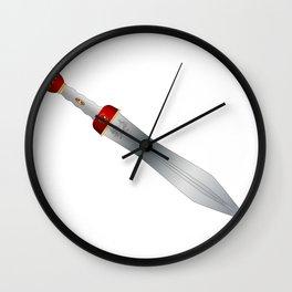 Roman Gladiator Sword Wall Clock
