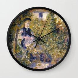 "Renoir ""Nini in the Garden"" Wall Clock"