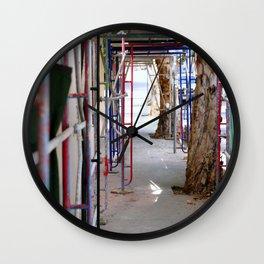 Construction Wall Clock