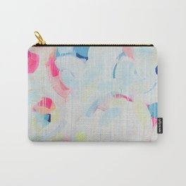 Instant Crush - Abstract painting by Jen Sievers Carry-All Pouch
