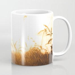 Sunset in the Dutch polder | The Netherlands Travel Photography | Warm colored silhouette PhotoPrint Coffee Mug