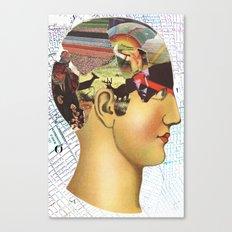 Mind Map Canvas Print