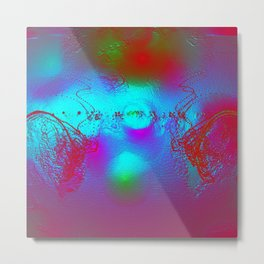 Effervescent Sheen Metal Print