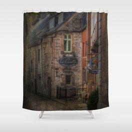 Old European village Shower Curtain