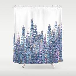 Lupine Love Shower Curtain