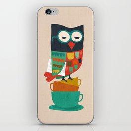 Morning Owl iPhone Skin