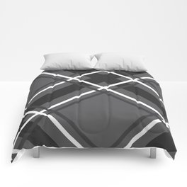 Jumbo Scale Men's Plaid Pattern Comforters