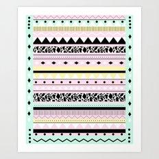 MIAKODA P O W E R Art Print