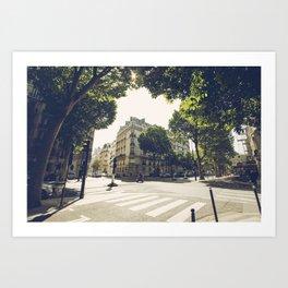 Le 8e Arrondissement Art Print
