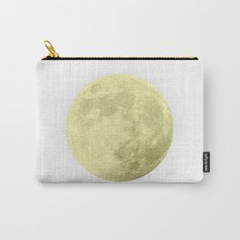 CANARY YELLOW MOON Carry-All Pouch