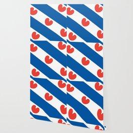Flag of Friesland Wallpaper